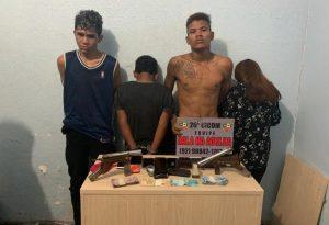 Quatro homens são presos suspeitos de assaltar ônibus da linha 459 em Manaus