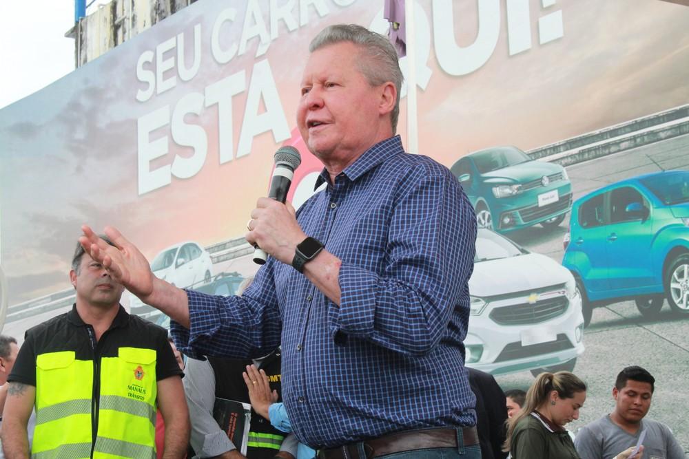 Arthur Neto lança obras na Av. Constantino Nery orçadas em mais de R$ 64 milhões