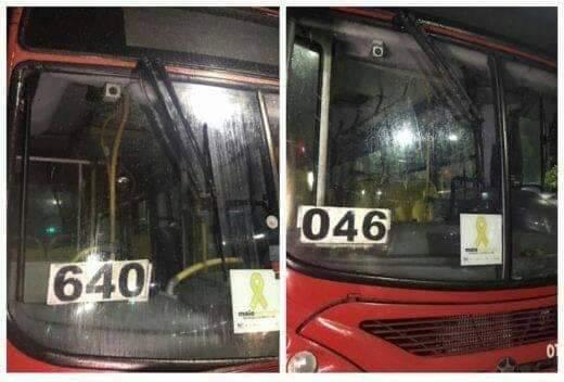 Dois ônibus da empresa Eucatur são assaltados ao mesmo tempo na zona norte de Manaus