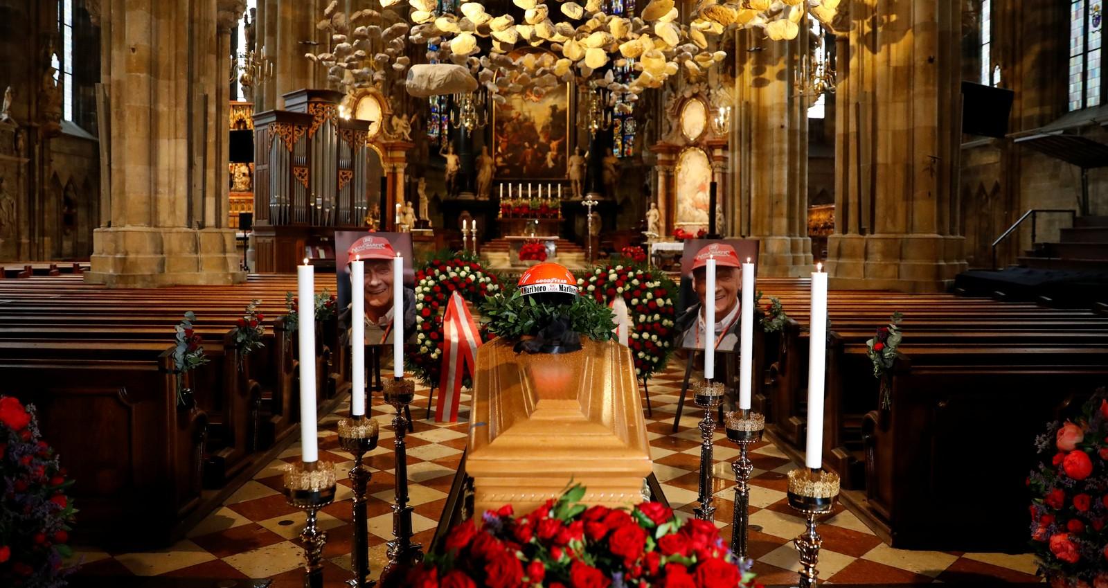 Niki Lauda é enterrado em Viena com a presença de campeões da Fórmula 1
