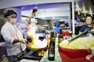 Edital aberto para comércio de comidas e bebidas no Festival Folclórico do Amazonas