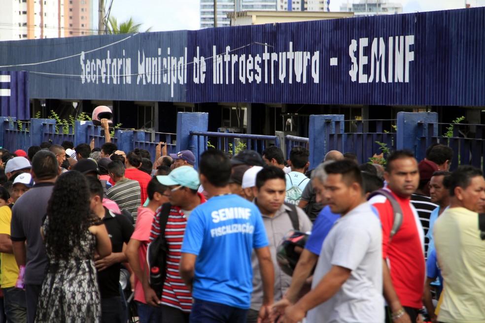 Prefeitura de Manaus divulga resultado preliminar de processo seletivo da Seminf