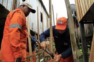 Prefeitura de Manaus intensifica ação da 'Operação Enchente 2019'