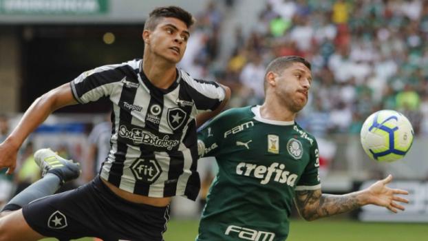 CBF retira os três pontos da vitória do Palmeiras sobre o Botafogo após polêmica