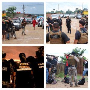 """Operação """"Cidade das Trevas"""" é realizada na zona Norte de Manaus"""