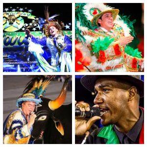 Toada e samba aquecem torcedores azuis e vermelhos para Festival de Parintins