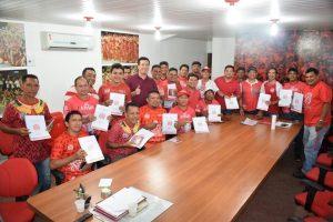 Motivados, Artistas de Tribos do Garantido iniciam trabalhos nesta terça-feira (07)