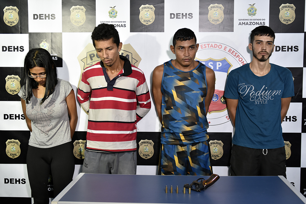 Bando é preso pelo homicídio de subtenente do EB da reserva, ocorrido neste mês, no bairro São José Operário