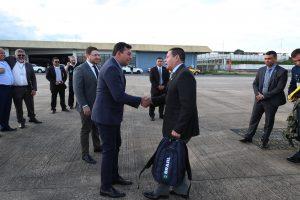 Wilson Lima se reune com Mourão para discutir temas de interesse do Amazonas