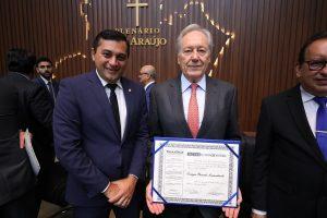 Governador Wilson Lima agradece ministro Lewandowski por apoio à Zona Franca de Manaus