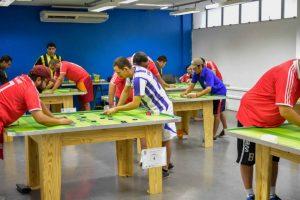 Campeonato Amazonense de Futebol de Mesa acontece neste domingo (26), em Manaus