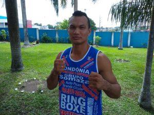 Lutador Francisco Ataíde participa de evento de boxe 'Nocaute na Violência' em Belém