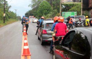 """Vinte e dois veículos são removidos durante """"Operação Cidade das Trevas"""""""