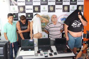 Operação Acareli resulta na prisão de cinco homens em Manaus