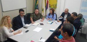 Exército realiza alinhamento da operação Acolhida com órgão da Prefeitura de Manaus