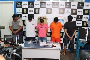 Operação Anúbis prende envolvidos em tráfico de drogas e homicídio no bairro da União