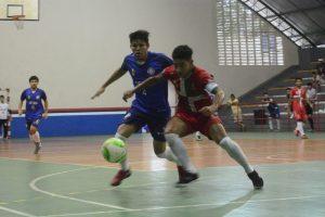 Futsal, handebol e vôlei movimentam as quadras da Vila Olímpica pelos Jogos Universitários do Amazonas