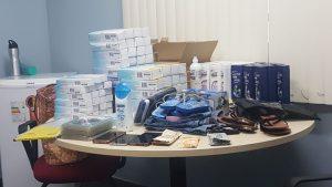 Polícia Civil recupera produtos subtraídos de estabelecimentos comerciais na capital e prende homem envolvido nos crimes
