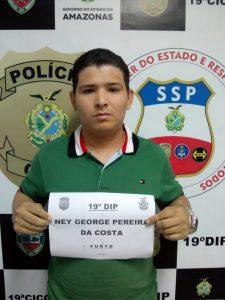 Rapaz é preso por furtos no bairro Compensa