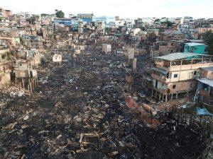 Inquérito aponta causas do incêndio que destruiu centenas de casas no Educandos