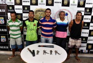 Polícia Civil prende grupo por furto a empresa no bairro Distrito Industrial 1