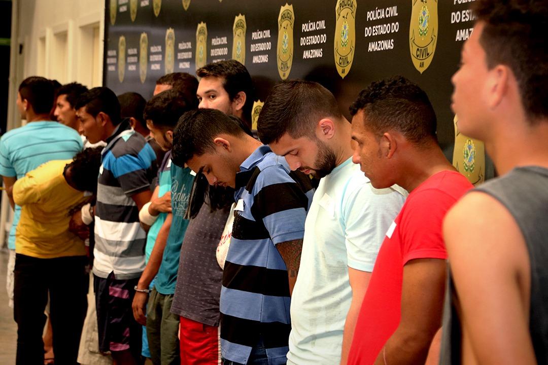 """Durante a operação """"Cronos 2"""" 21 pessoas foram presas na capital"""