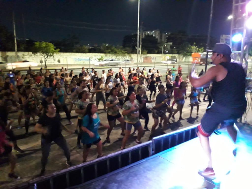 Estádio da Colina recebe o programa 'Vem Dançar'