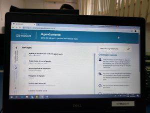 Clientes da Águas de Manaus já podem agendar dia e hora para serem atendidos nas lojas da concessionária