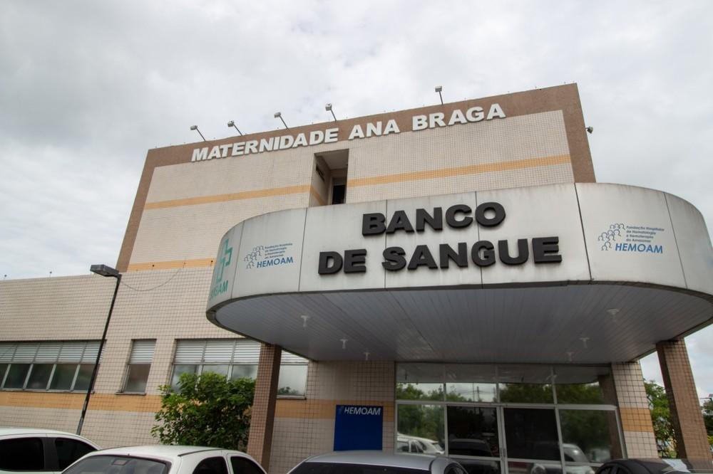 Serviço de Coleta de Sangue na Maternidade Ana Braga é normalizado, em Manaus