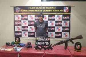 """""""Operação Rio"""" prende líder do tráfico da Zona Sul de Manaus"""