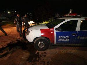 Viatura da PM é fuzilada no bairro São Geraldo, em Manaus