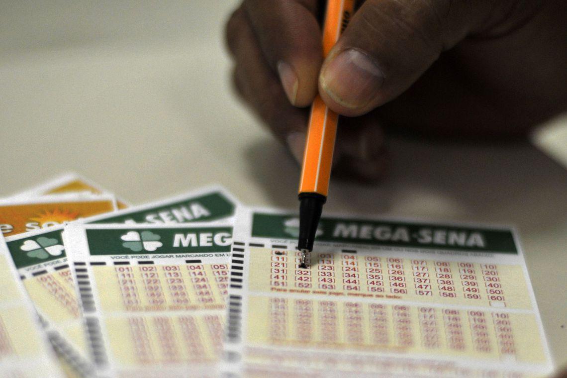 Acumulada,Mega-Sena promete sortear R$ 70 milhões neste sábado (8)
