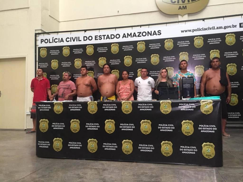 Polícia prende bando suspeito de vender terrenos ilegais e ameaçar compradores em Manaus
