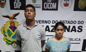 Casal é preso com arma e drogas em Lábrea, no Amazonas