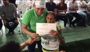 Em Barreirinha, Governador Wilson Lima é chamado de 'mentiroso' durante evento do programa 'Amazonas Presente'