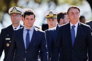 Bolsonaro diz que atuação de Moro na Lava Jato 'não tem preço' e que 'houve uma quebra criminosa'