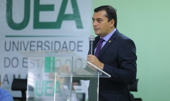 Presidente da Comunidade Árabe manda Wilson Lima estudar