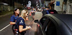 Foram 81 81 motoristas são flagrados dirigindo sob o efeito de álcool no final de semana