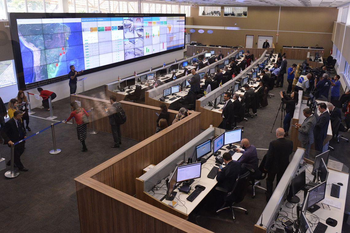 A segurança da Copa América será coordenada pelo Centro Integrado do Comando e Controle Nacional