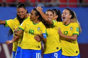 Brasil vai enfrentar a França nas oitavas de final do Mundial Feminino