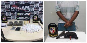 Em Manaus, PM prende seis pessoas, recupera sete veículos roubados e apreende quatro armas de fogo