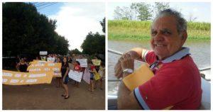 Prefeito de Uatumã 'debocha' de professores que pedem aumento de salário