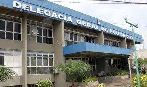PM destrói explosivos dentro da Delegacia Geral, em Manaus