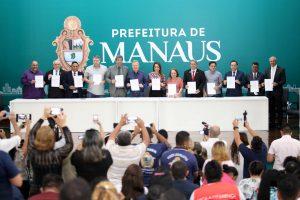 Prefeitura de Manaus antecipa a primeira parcela do 13º salário
