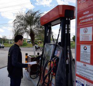Prefeitura intensifica autuações contra o preço abusivo da gasolina