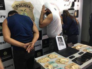 Trio é preso suspeito de integrar esquema de desmanche ilegal de veículos, em Manaus