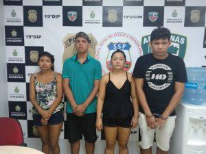 Quatro pessoas são presas por terem tentado matar jovem em maio deste ano, em Manaus