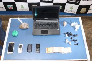 Operação da polícia prende 7 suspeitos de tráfico de drogas, em Parintins