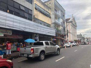 Assaltantes roubam R$ 9 mil e atiram em vítima no Centro de Manaus