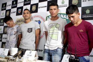 Polícia prende grupo ligado ao Comando Vermelho, em Manaus
